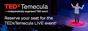 TEDxTemecula September 30th