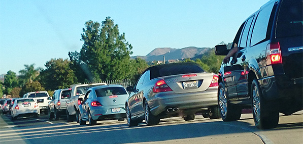 Murrieta Valley High School Traffic